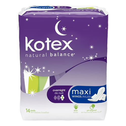 Kotex Night Time Pads Equity Pharmacy